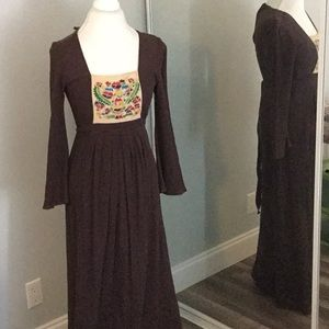 True Vintage maxi dress made in Athens small
